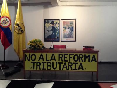 conferencia del Senador Jorge Enrique Robledo sobre la Reforma Tributaria